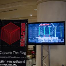 The CTF score board at the start of Day 2