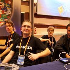 ... and The Netherlands (Team Eindbazen) featuring HITB.nl's CTF Core Crew and fail0verflow member, blasty!