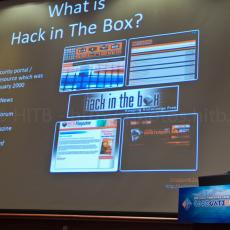 ... on Hack In The Box and the HITBSecConf series ...